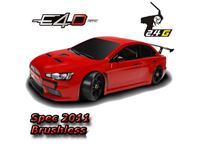 Picture of E4d evx rtr team magic e4 1/10 electric drift car (new spec. 2012) Brushless 6.5
