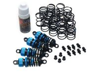 Immagine di Yeah racing set ammortizzatori 50mm per 1/10 touring shock gear (4) DSG-0050BU