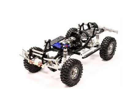 Immagine di Integy billet machined 1/10 trail roller 4wd off road crawler artr - black