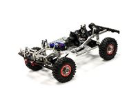 Immagine di Integy billet machined 1/10 trail roller 4wd off road crawler artr - silver