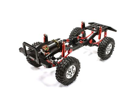 Immagine di Integy billet machined 1/10 type d90 roller 4wd off road crawler artr - red