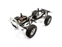 Immagine di Integy billet machined 1/10 type d90 roller 4wd off road crawler artr - silver