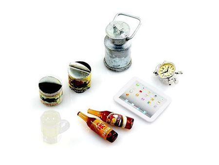 Picture of Yeah racing accessori campeggio bottiglia e bicchiere birra, ipad, barattolo latta, tazza latta jeep crawler YA-0365