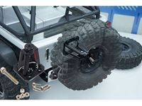 Picture of Yeah racing supporto porta ruota di scorta in metallo per axial scx10 scaler jeep YA-0457BK