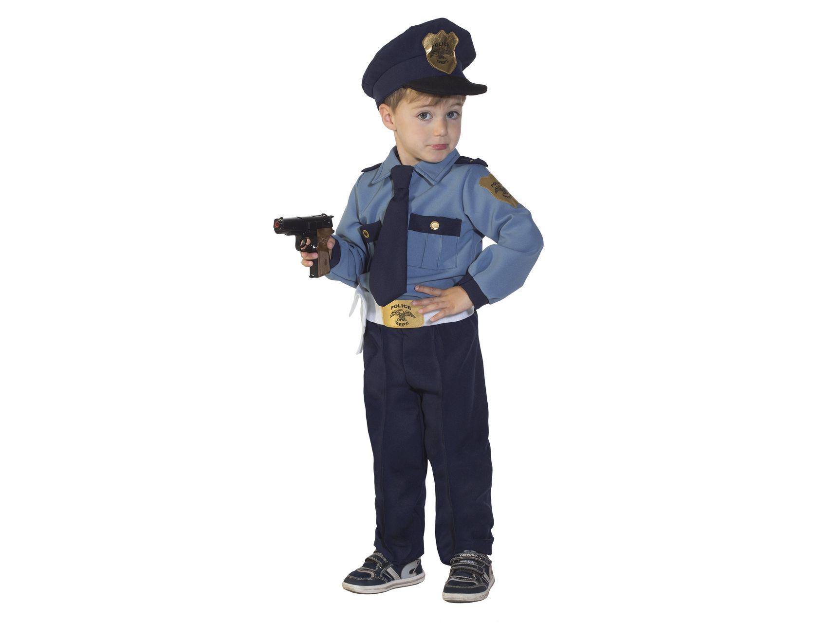 prezzo imbattibile limpido in vista colore n brillante Costume di carnevale Baby Policeman - Il poliziotto