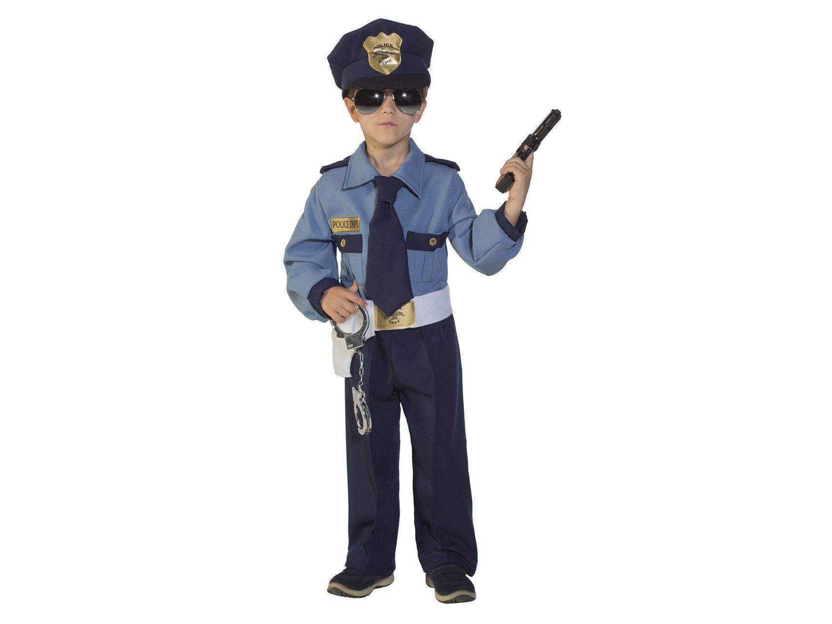 Costume di carnevale bambino Policeman   Il poliziotto