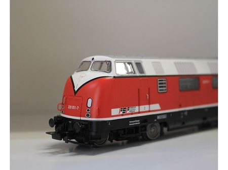 Immagine di Piko Locomotiva diesel 220.051-7 delle FSF ( Ferrovia  Suzzara Ferrara 97730