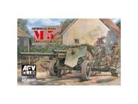 Immagine di AFV Club 1:35 - AFV Club 35181 U.S. Army 3 inch Gun M5 on Carriage M6 AF35181