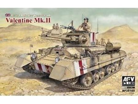 Immagine di AFV CLUB - AFV 1/35 British Mk III Valentine Mk II Infantry Tank AFV35185 AF35185
