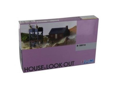 Immagine di FUJIMI 1/76 House & Look-out 38009
