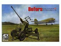 Immagine di 1/35 Bofors British QF 40mm Mk.III Anti-Aircraft Gun Late Type by AFV Club AF35187
