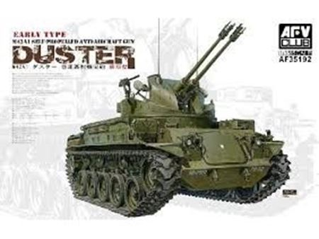 Immagine di AFV35192 1:35 AFV Club M42A1 Duster Self Propelled AA Gun Early AF35192