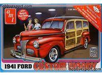 Immagine di AMT 1/25 KIT  Ford Custom Woody AMT00906