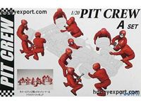 Picture of Fujimi - FUJIMI KIT 1/20 Pit Crew Set A FU11244