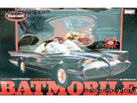Immagine di POLAR LIGHT 1/25 KIT Tv Batmobile 1966 + Figures POL824