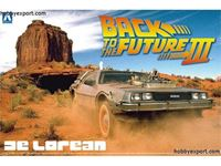Immagine di AOSHIMA - Aoshima KIT 1/24 Delorean Dmc Back To The Future 3 AO01187