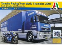Picture of Italeri - ITALERI 1/24 RACING TEAM YAMAHA TRUCK + MOTO 3823S