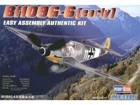 Immagine di HOBBYBOSS - HOBBY BOSS  1/72 bf109 g-6 early 80225