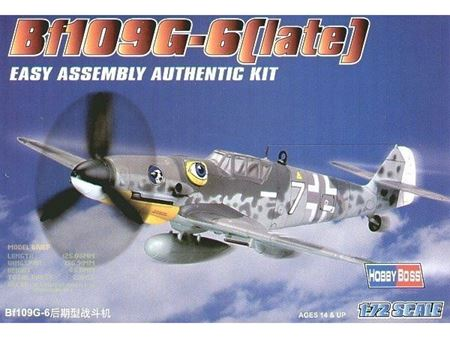 Immagine di HOBBYBOSS - HOBBY BOSS  1/72 bf109 g-6 late 80226
