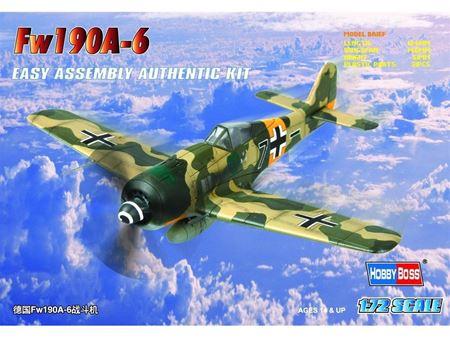 Immagine di HOBBYBOSS - HOBBY BOSS  1/72 fw190a-6 80245