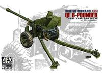 Picture of AFV CLUB - AFV Club British Ordnance QF 6-Pounder Anti-Tank Gun Mk.IV AF35217