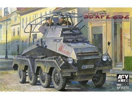 Immagine di AFV CLUB - AFV 1/35 EARLY TYPE Sd.Kfz.232 AF35232