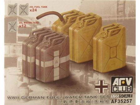 Immagine di AFV CLUB - AFV Club 1:35 German Fuel/Water Tank Set AF35257
