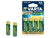 Immagine di Batterie  AA Stilo Varta ricaricabili 2600 mah  Blister 4PZ