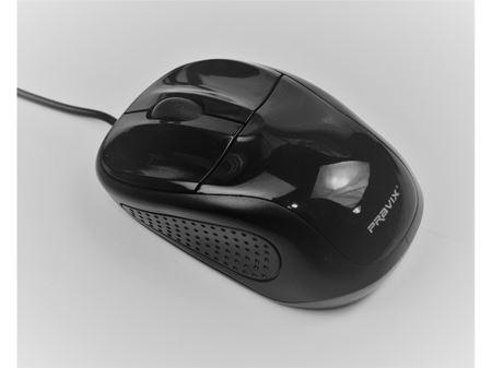 Immagine di Mini mouse Pravix MS-65 con cavo USB 800 dpi - ret. blister