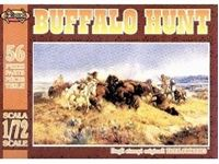 Picture of BUFFALO HUNT in scala 1/72