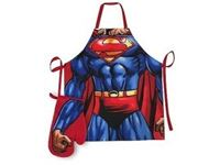 Picture of Superman Apron and oven glove