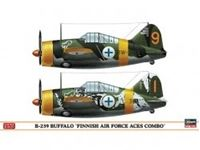 "Immagine di B-239 BUFFALO ""FINNISH AIR FORCE ACES COMBO"" (Two kits in the box) in scala 1:72"