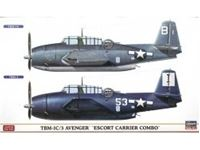 "Immagine di TBM-1C/3 AVENGER ""ESCORT CARRIER COMBO"" (Two kits in the box) in scala 1:72"