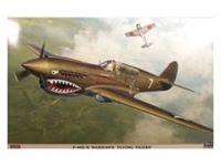 """Immagine di P-40E/K WARHAWK """"FLYING TIGERS"""" in scala 1:32"""