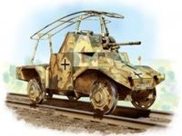 Immagine di 1:35 Panzersp?hwagen P 204 (f) Railway, WWII German Armoured Vehicle