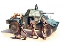 Immagine di 1:35 Panhard 178 with French Armoured Vehicle Crew