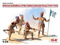 Immagine di 1:35 Eritrean battalions of the Italian colonial Army (1939-1940) (4 figures) (100% new molds)