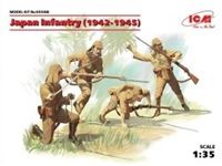 Immagine di 1:35 Japan Infantry (1942-1945) (4 figures) (100% new molds)