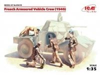 Immagine di 1:35 French Armoured Vehicle Crew (1940)      (4 figures) (100% new molds)