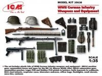 Immagine di 1:35 WWII German Infantry Weapons & Equipment (100% new molds)