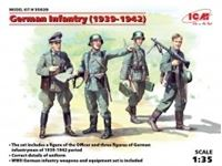 Immagine di 1:35 German Infantry (1939-1941) (4 figures) (100% new molds)