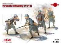 Immagine di 1:35 French Infantry (1916) (4 figures) (100% new molds)