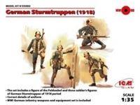Immagine di 1:35 German Sturmtruppen (1918) (4 figures) (100% new molds)