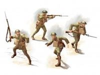 Immagine di 1:35 US Infantry (1918) (4 figures) (100% new molds)