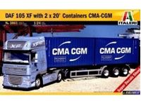Immagine di DAF 105 SF w/2x20 Containers CMS-CMG