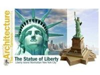 Picture of The Statue Of Liberty Fast Assembly 100% NUOVO STAMPO