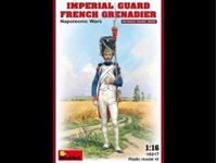 Picture of 1/16 Imperial Guard French Grenadier. Napoleonic Wars.