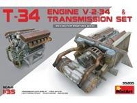 Picture of 1/35 T-34 Engine V-2-34 & TRANSMISSION SET