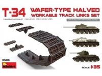 Immagine di 1/35 T-34 WAFER-TYPE HALVED WORKABLE TRACK LINKS SET