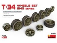 Picture of 1/35T-34 Wheels set. 1942 series